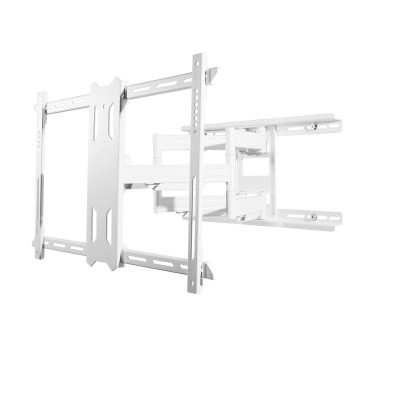 Kanto PDX650W Full Motion Mount for 37-inch to 75-inch TVs - White (800152713045)