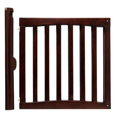 Safety 1st Wood Top Of Stairs Swing Gate 30inch 48inch