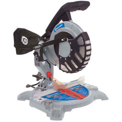 King Canada 8-1/4-inch Dual Compound Miter Saw with Laser