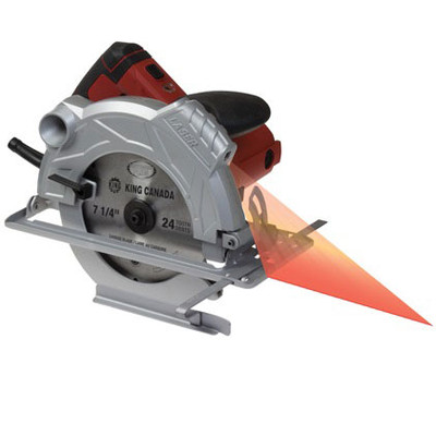Performance Plus 8307L 7-1/4-Inch Circular Saw with Laser