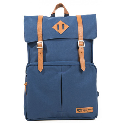 WillLand Outdoors College Fortuna Backpack, Navy