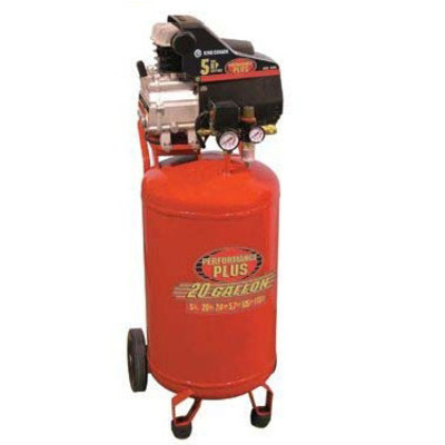 Performance Plus 8498 5-Horsepower Upright Air Compressor