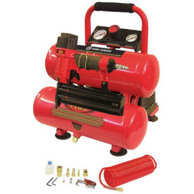 Performance Plus Oil-Free Air Compressor Kit
