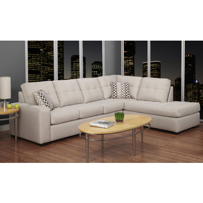9883 Fabric Sectional