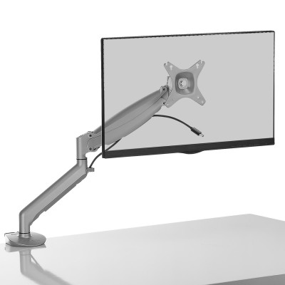 Kanto DMG1000S Desktop Mount for 17-inch to 27-inch Displays - Silver