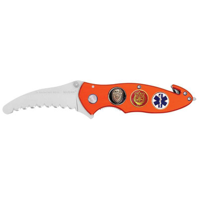 Maxam Police - Fire and EMS Liner Lock Knife