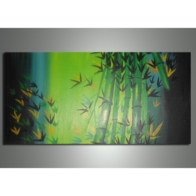 Bamboo Painting- 32 x 16 in