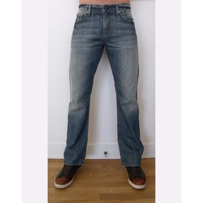 Mavi Jeans JOSH MIDRISE BOOTCUT FOGGY CLOUD VEGAS