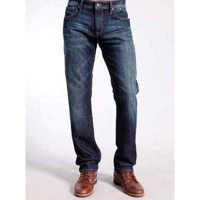 Mavi Jeans ZACH MIDRISE STRAIGHT IN DEEP COOPER