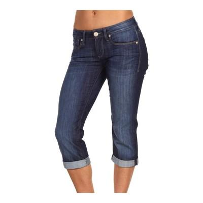 Mavi Jeans ALMA DOMINIQUE LOWRISE CAPRI IN DARK WASH