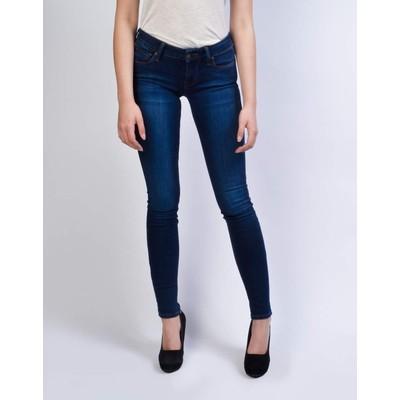 Mavi Jeans SERENA LOWRISE SKINNY IN DARK SATEEN SHANTI