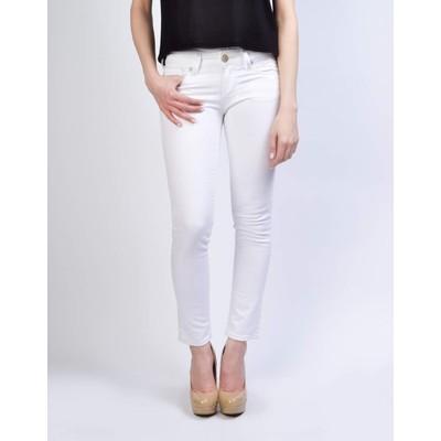 Mavi Jeans SERENA LOWRISE ANKLE SKINNY IN WHITE DOMINQUE