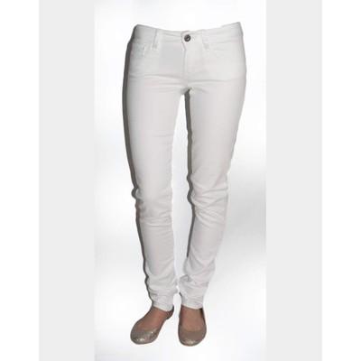 Mavi Jeans SERENA LOWRISE IN WHITE NOLITA