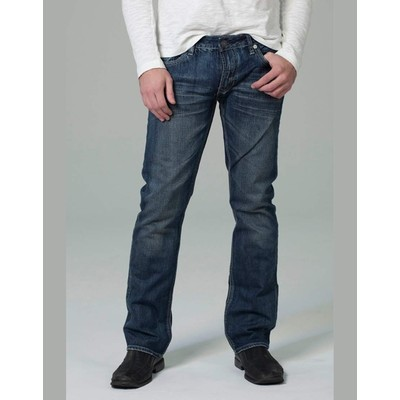 Buffalo Jeans SYLVES LOWRISE BOOTCUT IN DARK STONE WASH