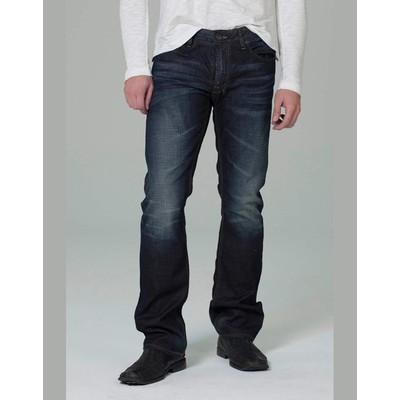 Buffalo Jeans SIX LOWRISE SLIM IN DARK BLASTED WASH
