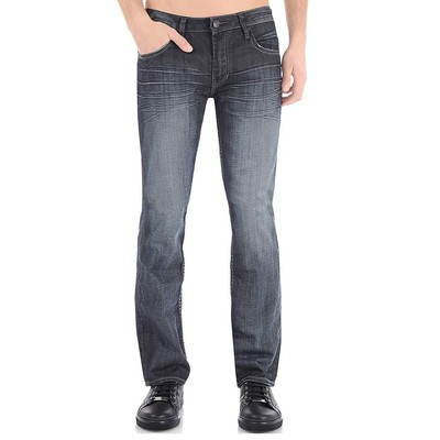Buffalo Jeans SIX MIDRISE SLIM IN DARK COATED