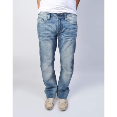 Buffalo Jeans SIX MIDRISE STRAIGHT IN MEDIUM BLASTED