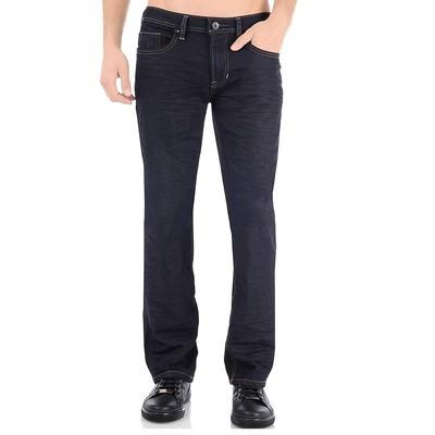 Buffalo Jeans DRIVEN X MIDRISE STRAIGHT LEG IN DARK RINSE