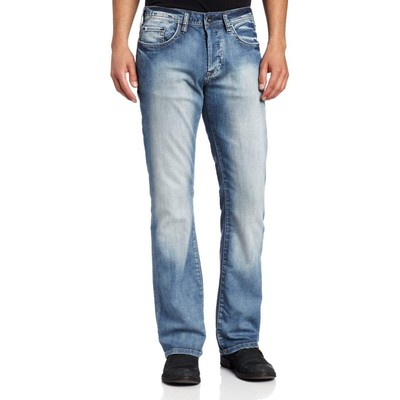 Buffalo Jeans KING LOWRISE SLIM-BOOTCUT IN BLEACH WASH