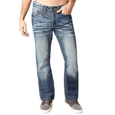 Buffalo Jeans GAME MIDRISE BOOTCUT IN MEDIUM BLUE
