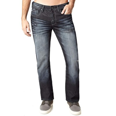 Buffalo Jeans KING LOWRISE BOOTCUT IN DARK RINSE COATED