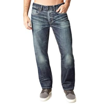 Buffalo Jeans SIX LOWRISE SLIM IN DARK DIRTY WASH