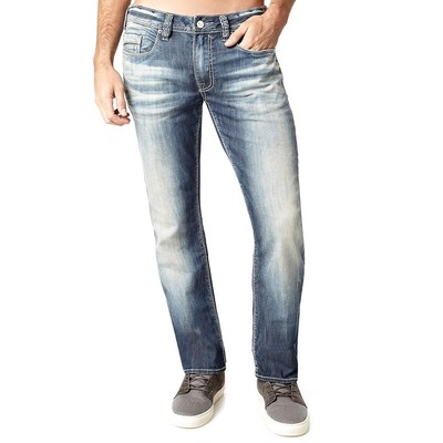 Buffalo Jeans EVAN X LOWRISE SLIM IN MEDIUM BLUE