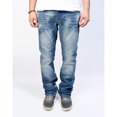 Buffalo Jeans KING MIDRISE BOOTCUT IN LUCAS BLUE VINTAGE