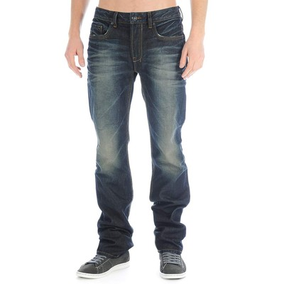 Buffalo Jeans SIX MIDRISE SLIM HEAVILY RUBBED AND SANDED