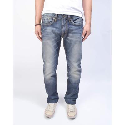 Buffalo Jeans ASH MIDRISE SKINNY SUPER SANDED BASIC IN DARK
