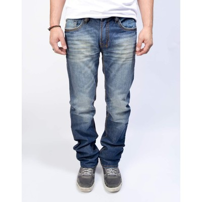 Buffalo Jeans DRIVEN STRAIGHT HEAVY BLASTED IN DIRTY WASH