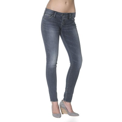 Silver Jeans CAMDEN SKINNY IN INDIGO WASH