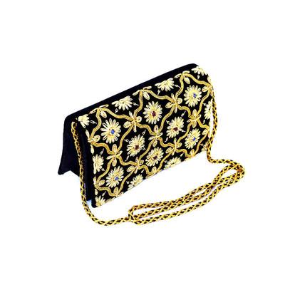 Black & Gold Shoulder/Crossbody Bag