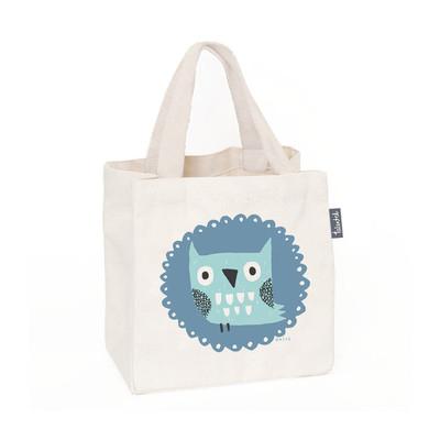 UK design fairtarde mini tote - mr. owl