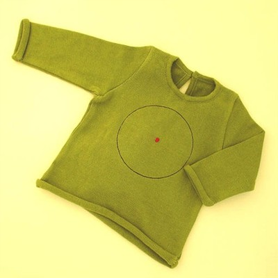Sckoon  Baby Sweater - Green (1 - 2 yr)