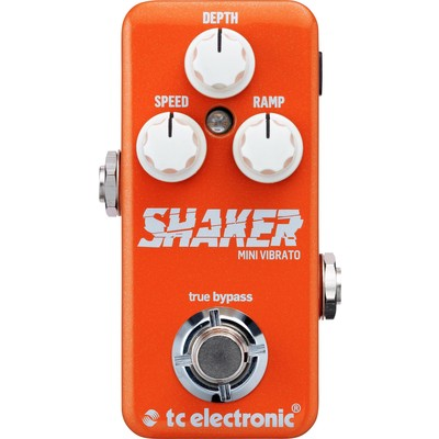 TC Electronic Shaker Mini Vibrato Effect Pedal - TC Electronic - 960809001