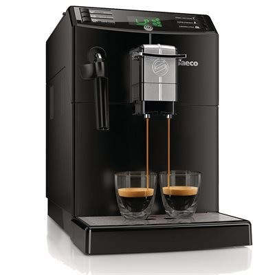 Saeco Minuto Automatic Drip/Espresso Coffee Maker - Black