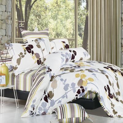 North Home - Vintage 100% Cotton 4pc Duvet Cover Set