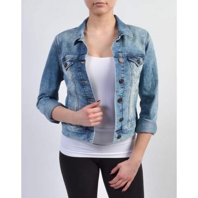 Mavi Jeans Samantha Bleached Random Nolita Jean Jacket