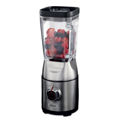 Oster Silver Die-Cast Dial Blender with Square Jar - BLSTCB0100-033