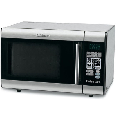 Cuisinart-Refurbished CMW100 Stainless Steel Microwave-Manufacturer Recertified with 90 days Warranty