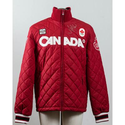 Women's Vancouver 2010 Gold Medalist Ashleigh McIvor Autographed Podium Jacket