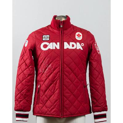 Women's Vancouver 2010 Bronze Medalist François-Louis Tremblay Autographed Podium Jacket