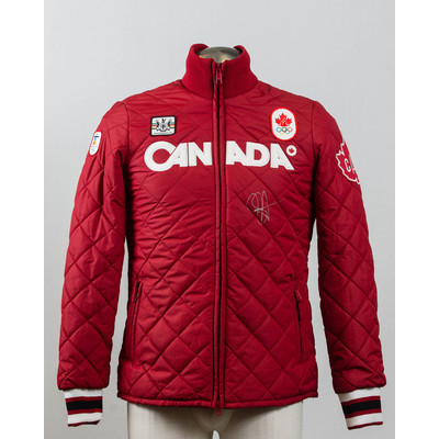 Women's Vancouver 2010 Gold Medalist Jasey Jay Anderson Autographed Podium Jacket