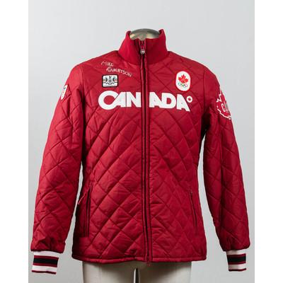 Women's Vancouver 2010 Silver Medalist Mike Robertson Autographed Podium Jacket