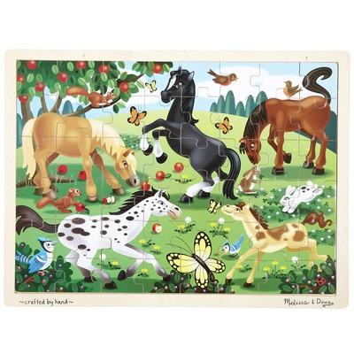 Melissa & Doug Frolicking Horses Jigsaw (48 pieces)