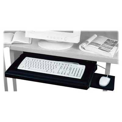 Exponent Microport Underdesk Keyboard Drawer with Mouse Platform