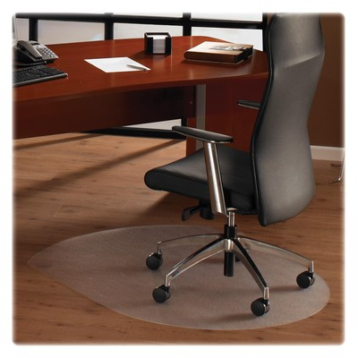 Cleartex Hardwood Contoured Chair Mat