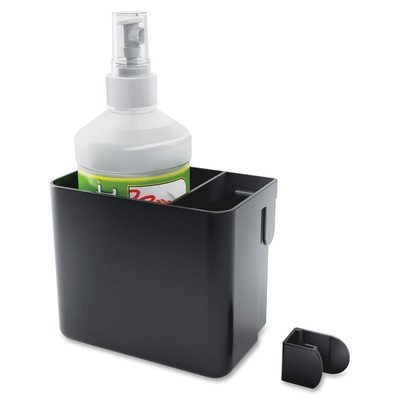 Quartet Whiteboard Accessory Bin with Spray Cleaner/Cloth