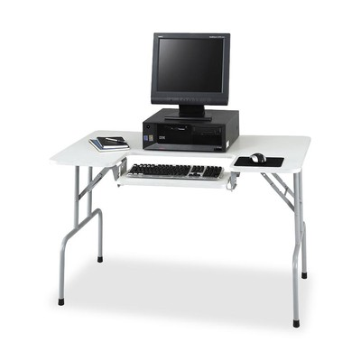 Safco Folding Computer Table